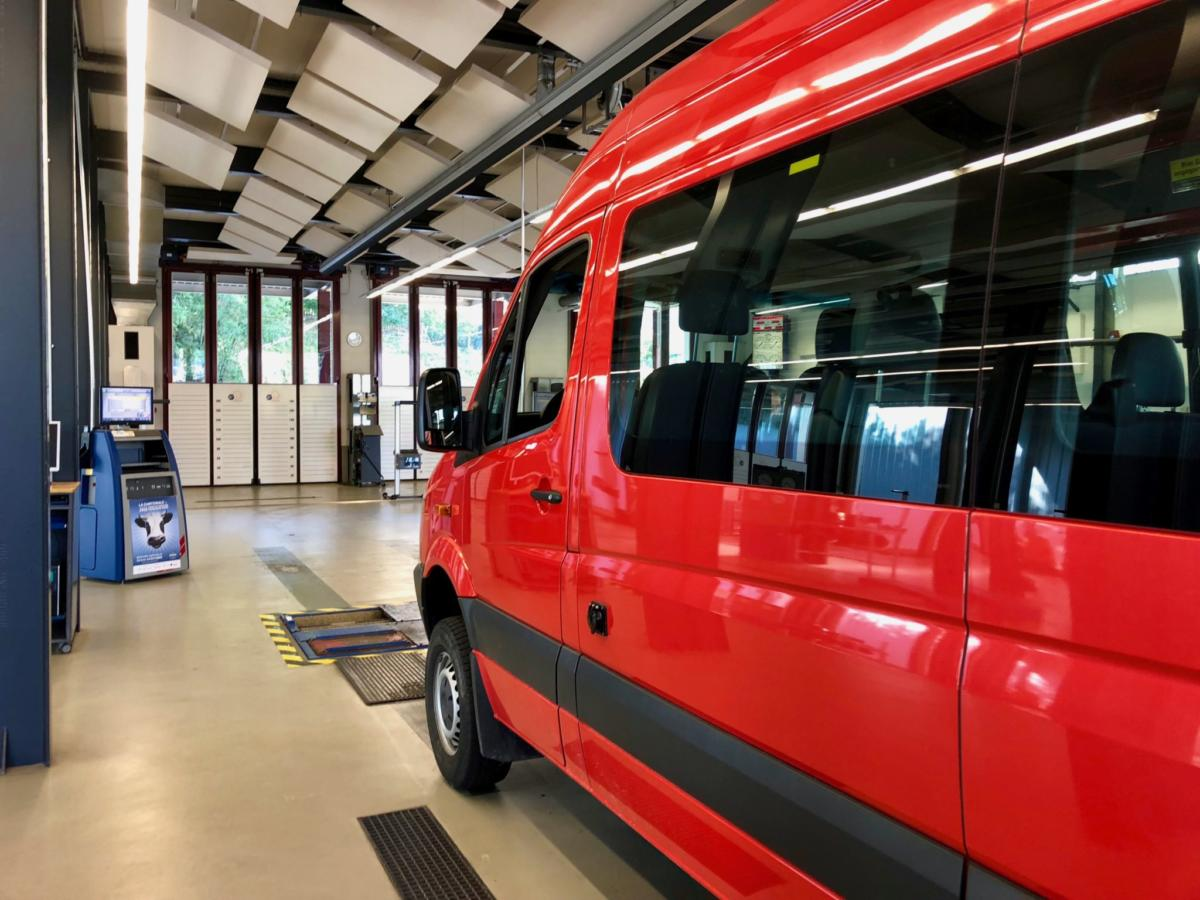 Road Test Brake Inspection